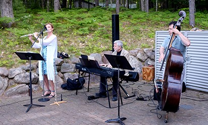 Interlochen music trio at Parsons Center.