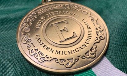 EMU Student Gold Medallion