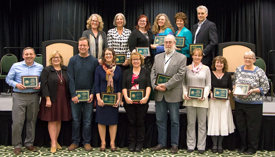 Eastern Michigan University honors faculty, staff for distinguished contributions