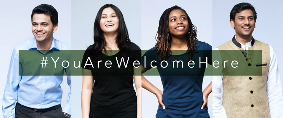 Eastern Michigan University launches #YouAreWelcomeHere campaign to welcome international students and scholars to Eastern's campus