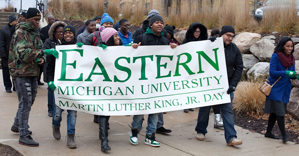 Joy-Ann Reid, a popular political analyst and cable TV host, chosen as keynote speaker for Eastern Michigan University's 32nd annual Martin Luther King, Jr. celebration