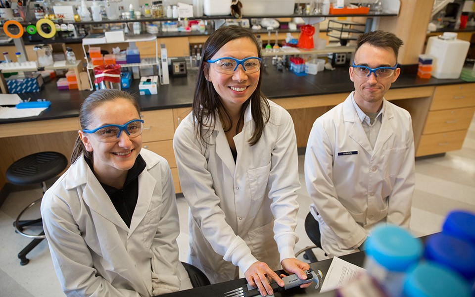 Undergraduate students are an integral part of research at Eastern Michigan University