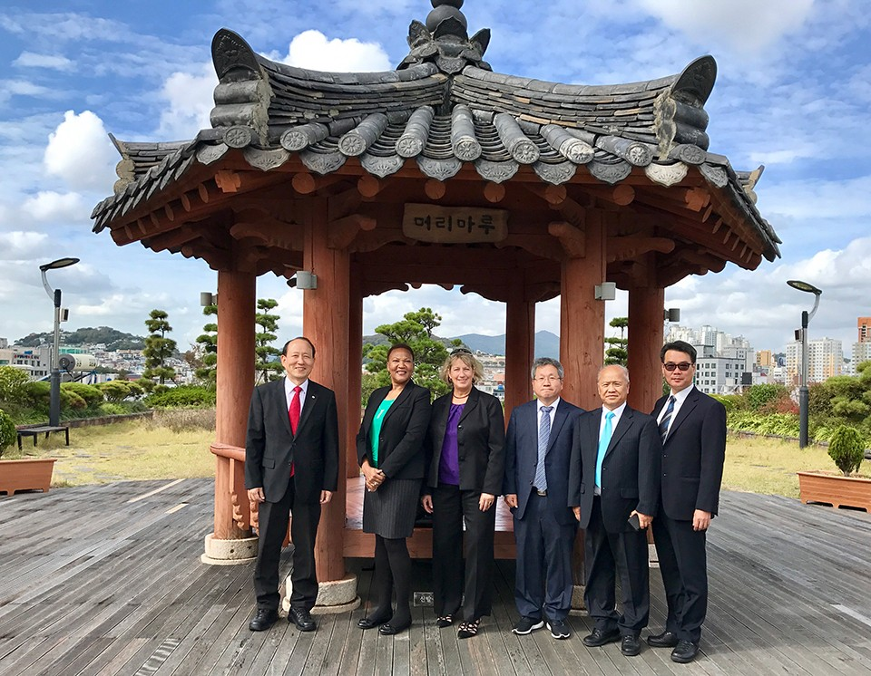 Trip to South Korea underscores EMU's commitment to reaching out to international partners
