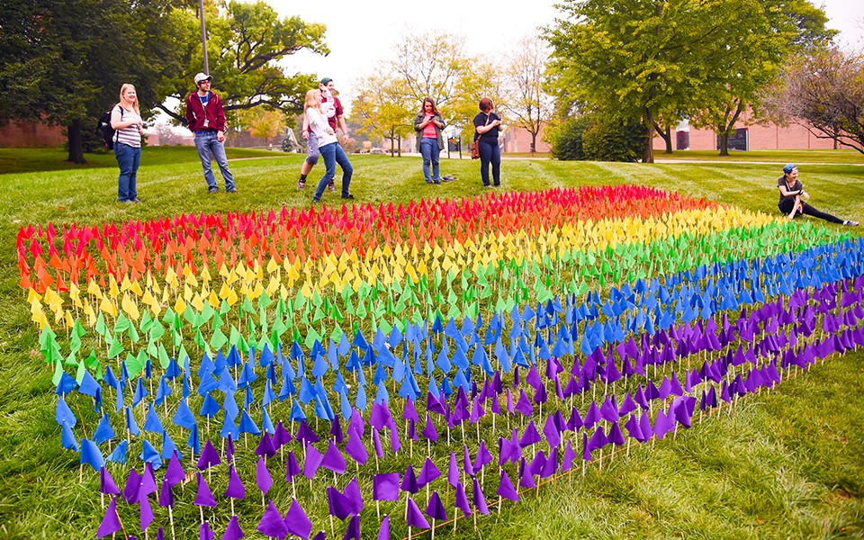 Eastern Michigan University recognized as Michigan's top LGBTQ-friendly university