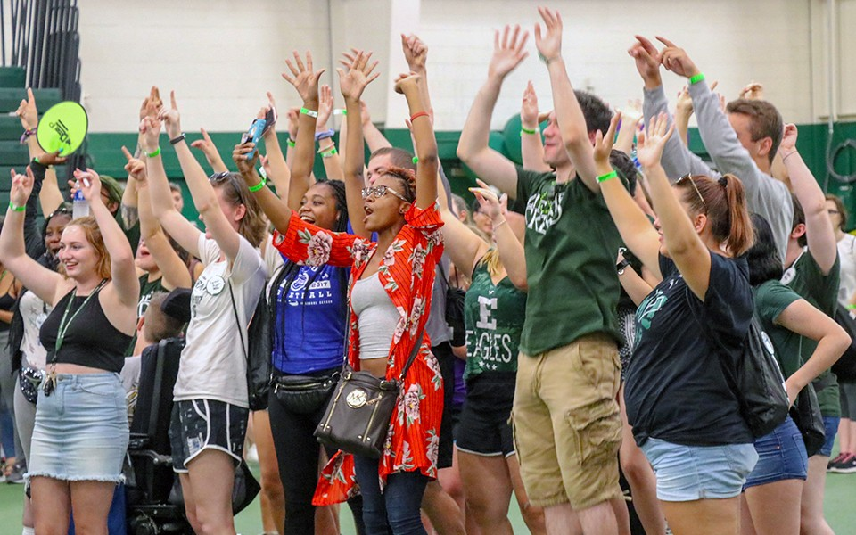Eastern Michigan University's diverse entering freshman class boasts strong academic profile