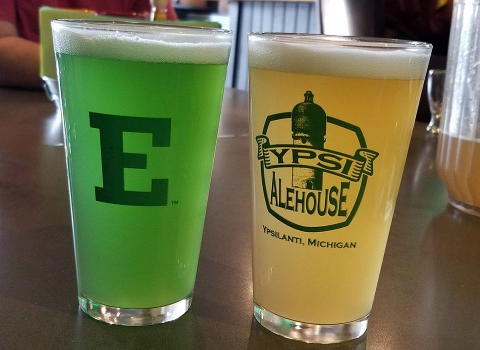 Eastern Michigan University Fermentation Science Program and the Ypsi Alehouse brew up a collaboration on a distinctive beer
