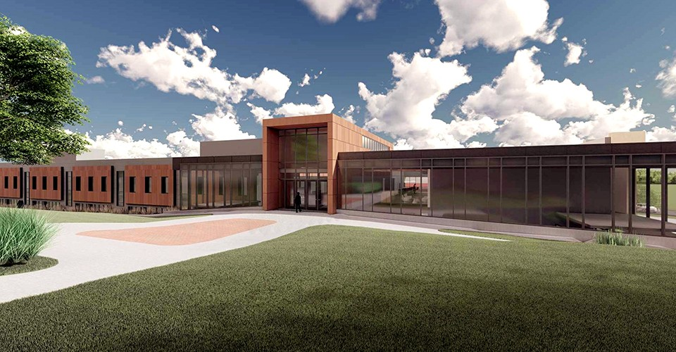 Architects rendering of Sill Hall concept