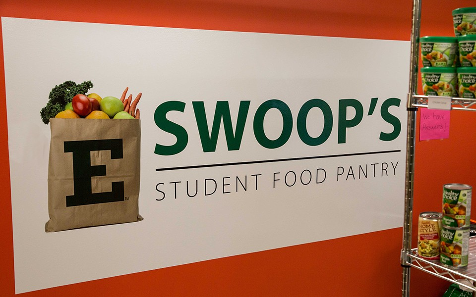 Swoop's Pantry sign