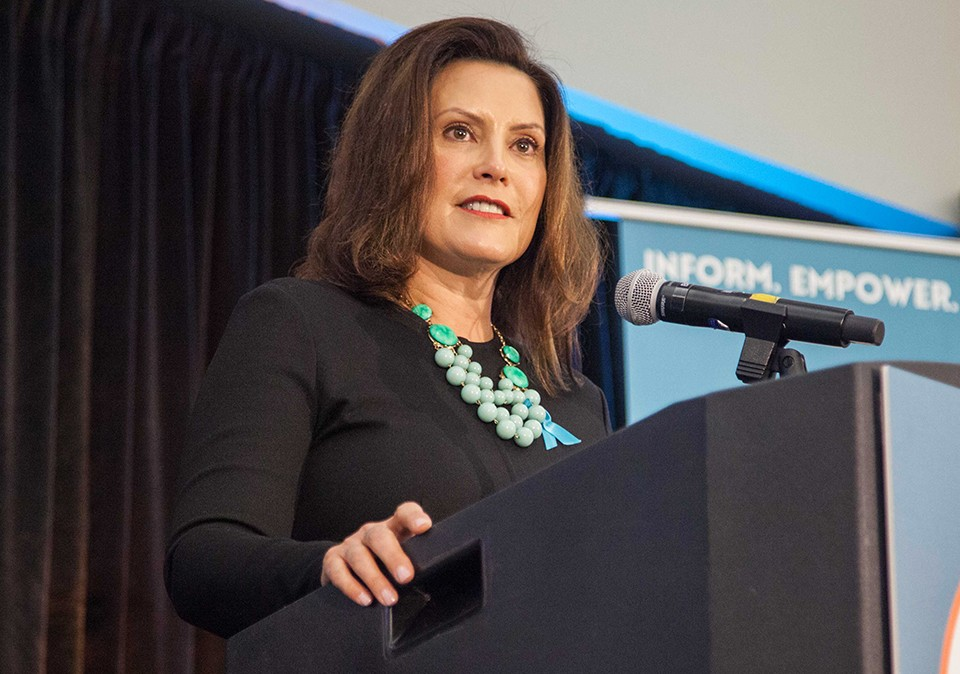 Governor Whitmer Tells Her Survivor S Story During Keynote Address At Let S End Campus Sexual Assault Summit At Eastern Michigan University Emu Today
