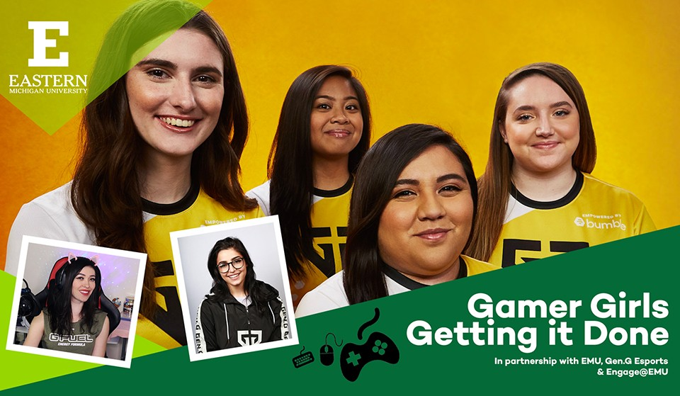 Gamer Girls esports camps header