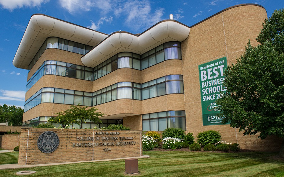 Eastern Michigan University College of Business rated among nation's best  for 17th consecutive year - EMU Today