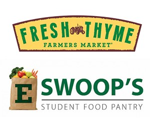 Fresh Thyme logo and Swoop's Pantry logo